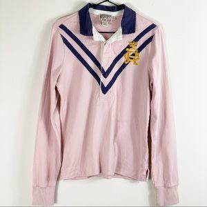 Rugby Ralph Lauren Pink Polo Shirt
